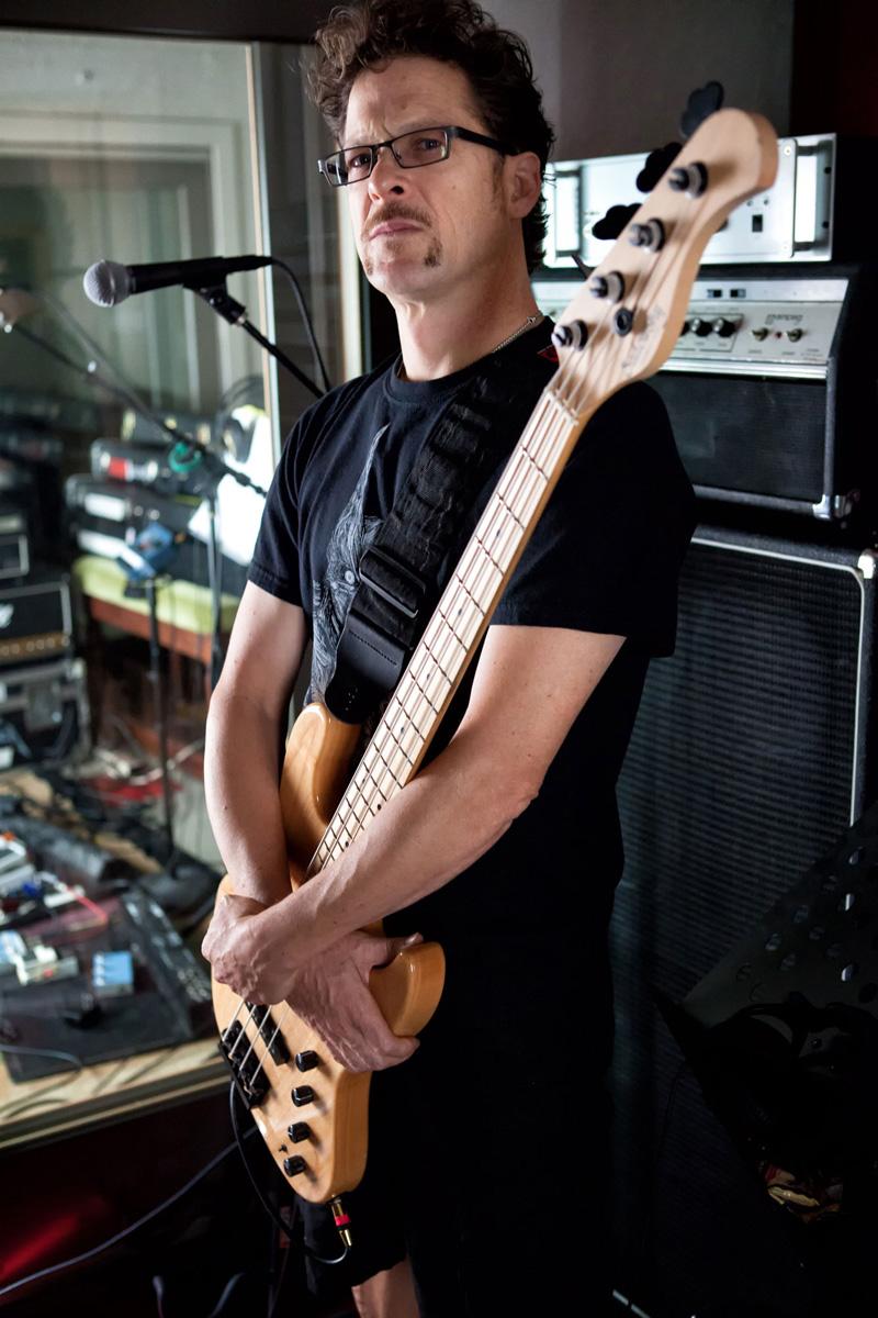 Jason Newsted (Photo by Chris Lascano)