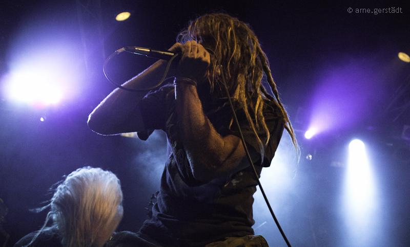 Suffocation live, 22.07.2012, Berlin / K17