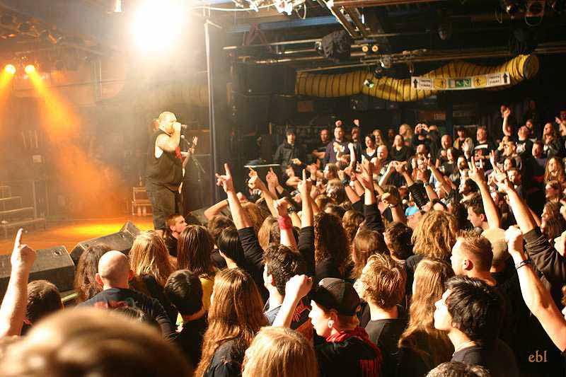Exodus, live, 29.11.2011 München, Backstage