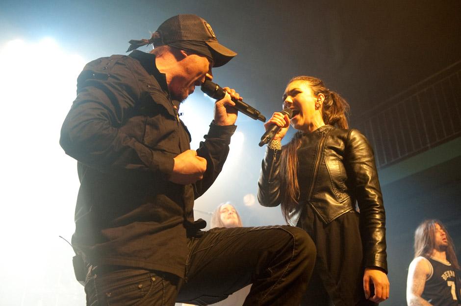 Amaranthe live, 29.03.2013, Hamburg
