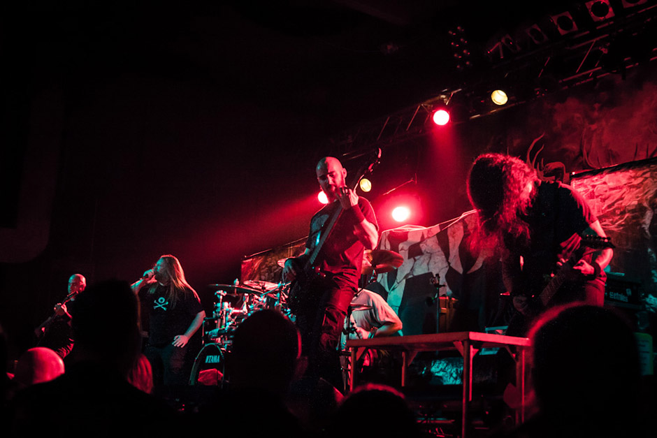 Dew-Scented live, 23.03.2013, Köln