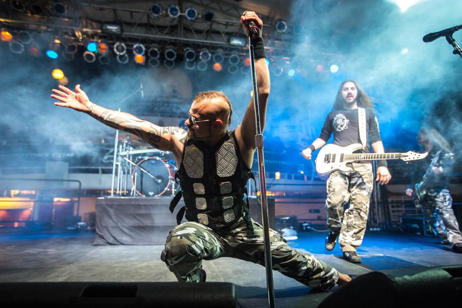 Sabaton, 70000 Tons Of Metal 2013