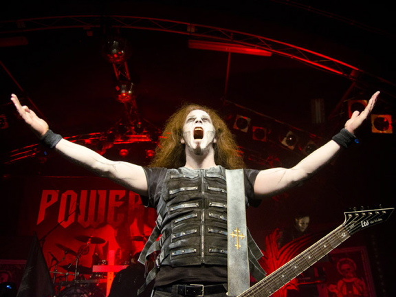 Powerwolf, live, 29.04.2012 Hamburg, Markthalle
