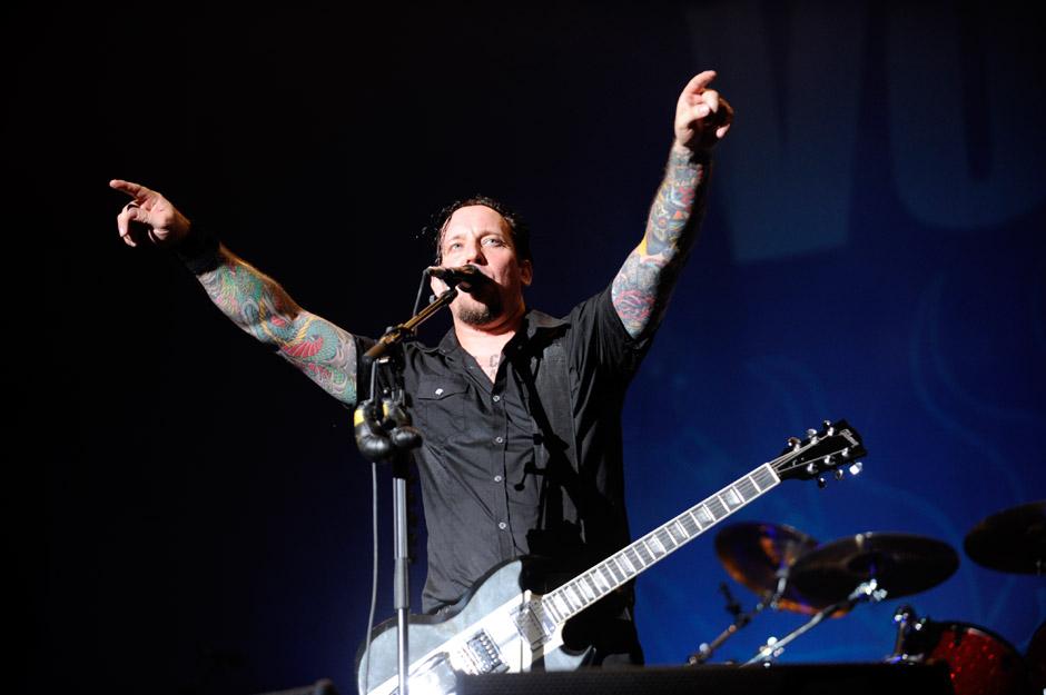 Volbeat live, Wacken 2012, 02.08.2012