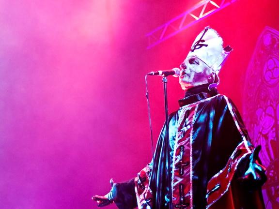 Ghost, live, 26.11.2011 Hamburg, Sporthalle