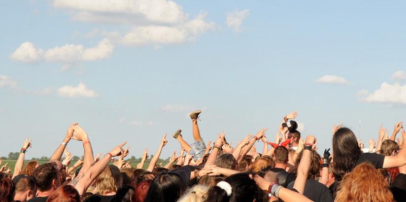 Die Fans beim Rock Harz 2011