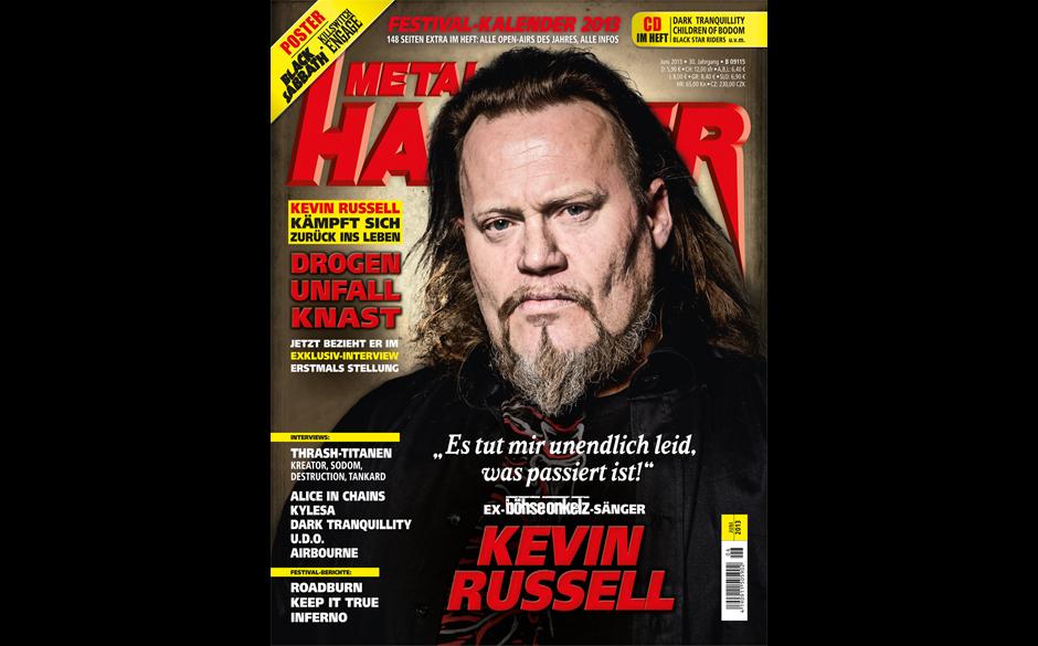 METAL HAMMER-Ausgabe 06/2013