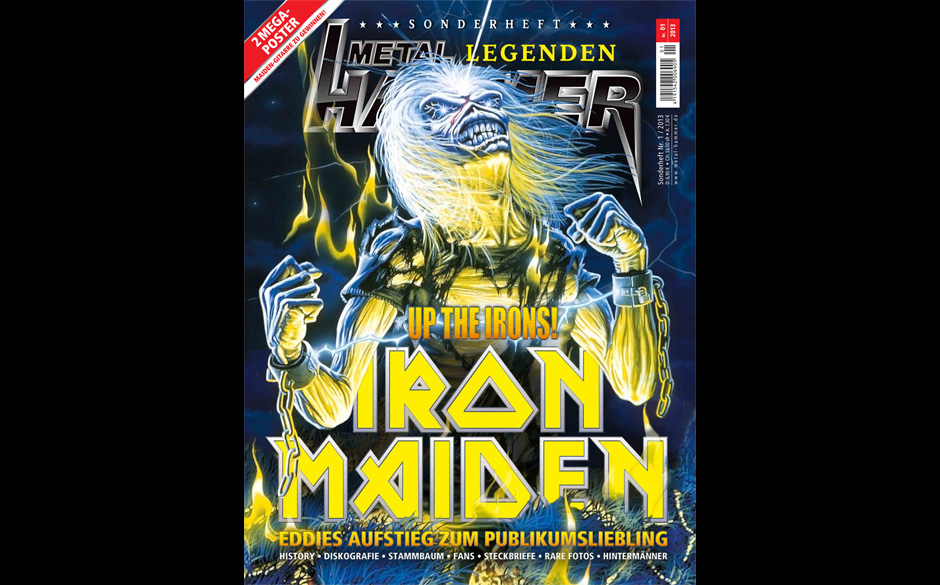 Iron Maiden - METAL HAMMER Legenden Sonderheft