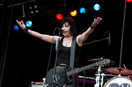 Joan Jett, live 2011, Sweden Rock Festival