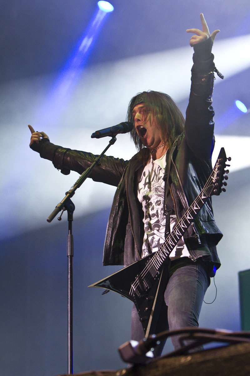 Bullet For My Valentine, live, With Full Force 2011