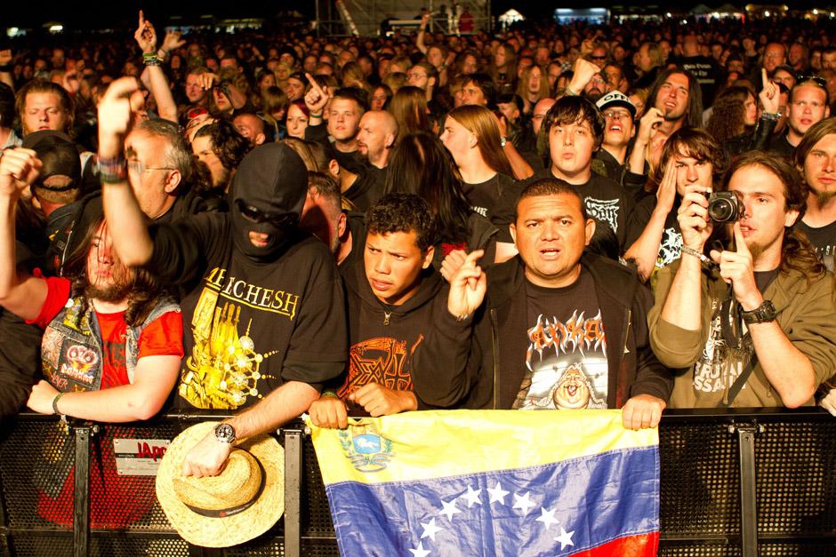 Tankard live, Party.San 2012