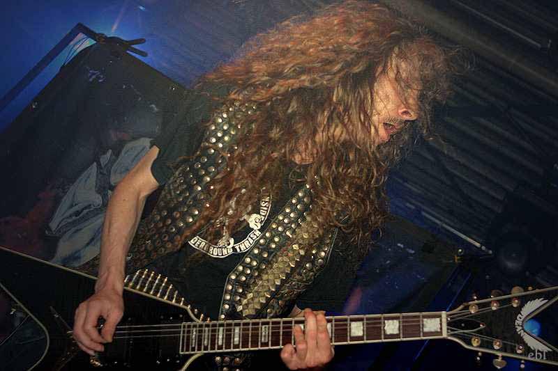 Destruction, live, 29.11.2011 München, Backstage