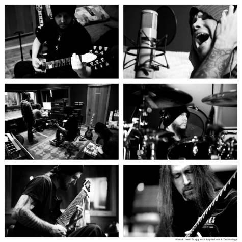 Joey Jordison im Studio