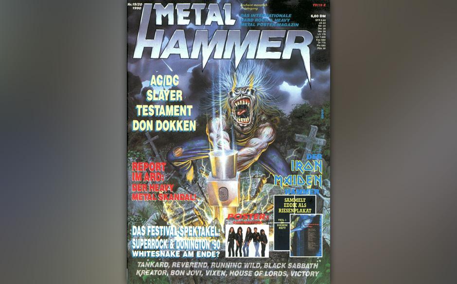 Iron Maiden auf dem METAL HAMMER-Titelbild