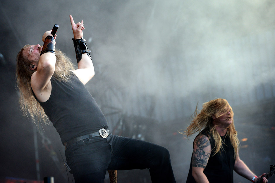 Amon Amarth live, Wacken Open Air 2012