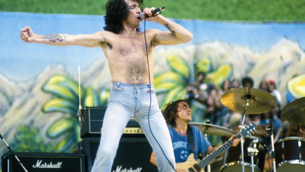 Der verstorbene AC/DC-Frontmann Bon Scott schrieb einst seiner Schwester