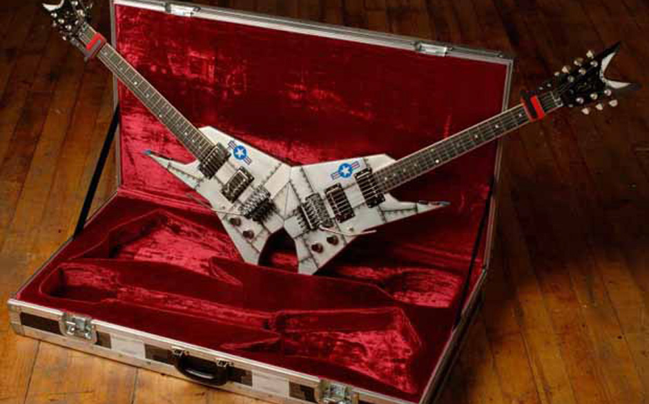 Signature Gitarre von Michael Angelo Batio