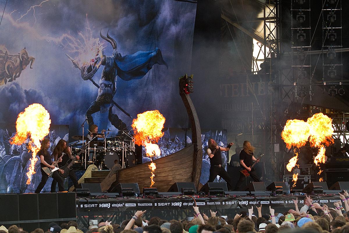 Amon Amarth, Rock am Ring 2013