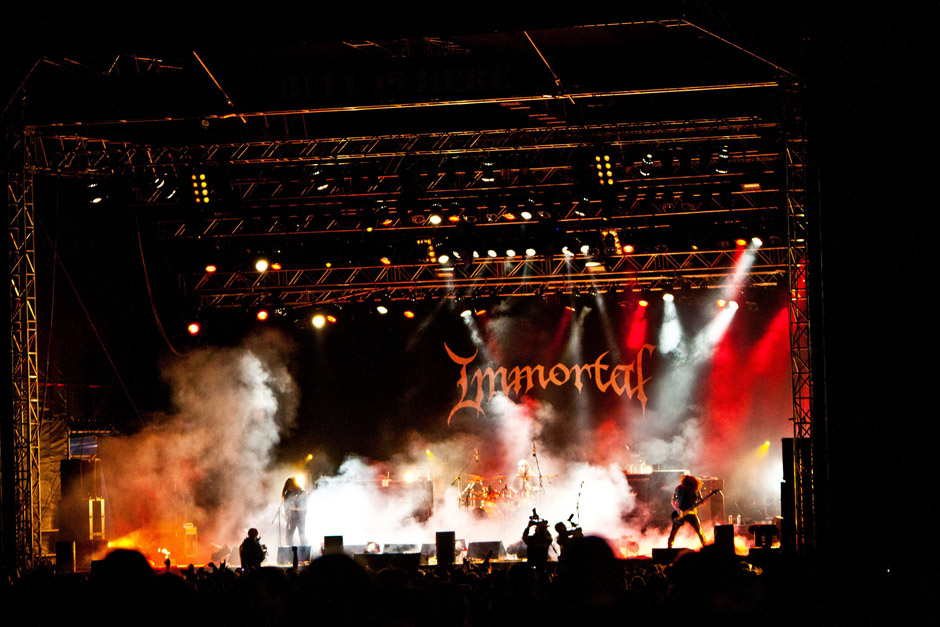 Immortal live, Party.San 2012