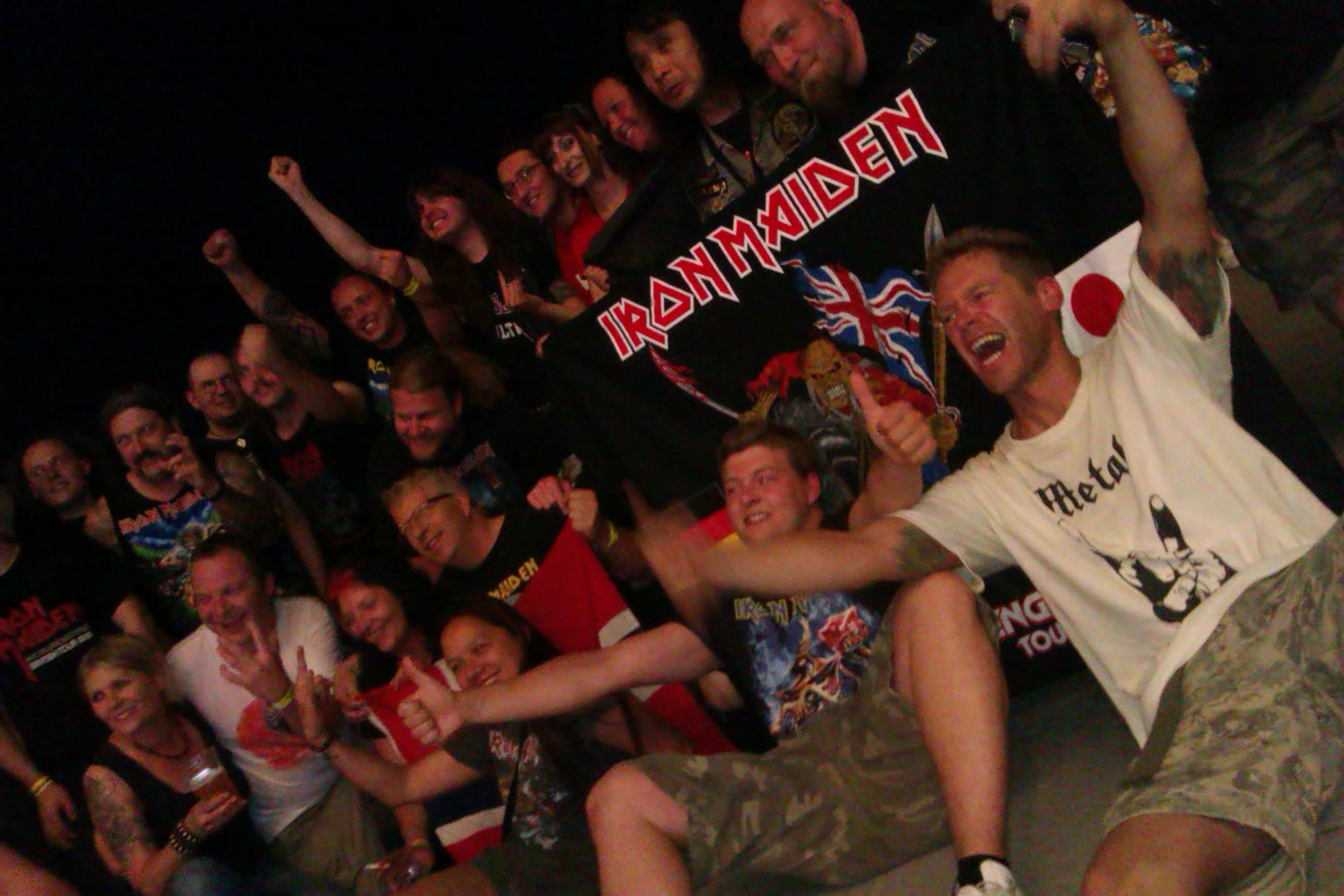 Iron Maiden-Fans in Berlin, 18.06.2013