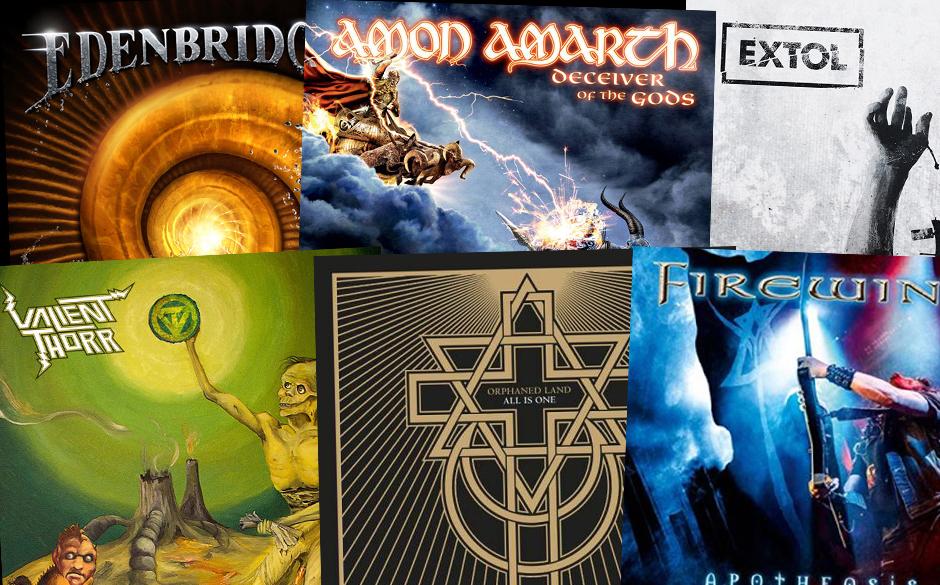 Amon Amarth, Orphaned Land, Edenbridge u.v.m.: Klickt euch durch die neuen Metal-Alben vom 21. Juni 2013