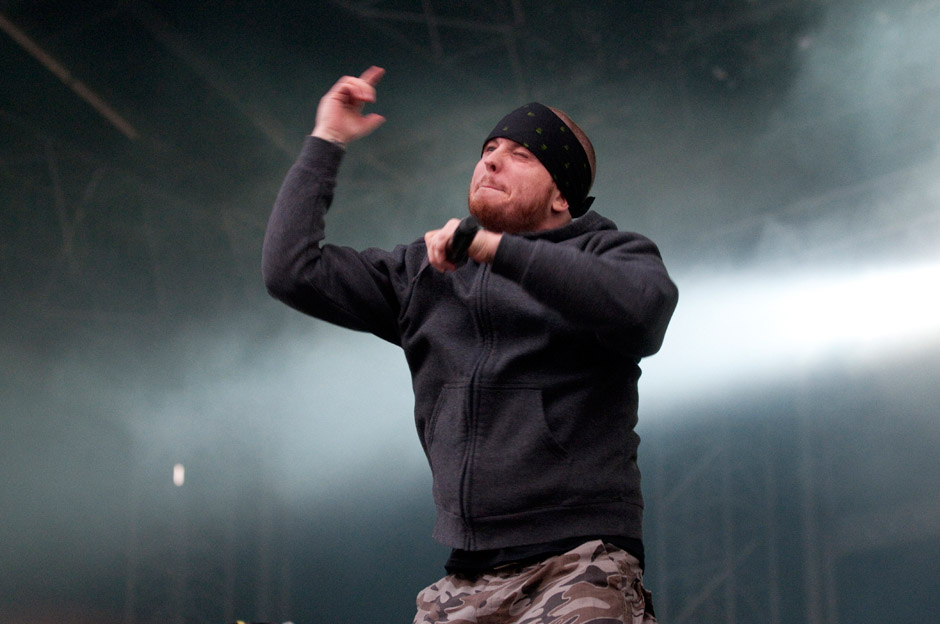 Hatebreed live, With Full Force 2013