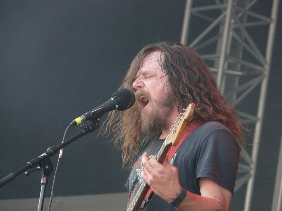 Red Fang live, With Full Force 2013