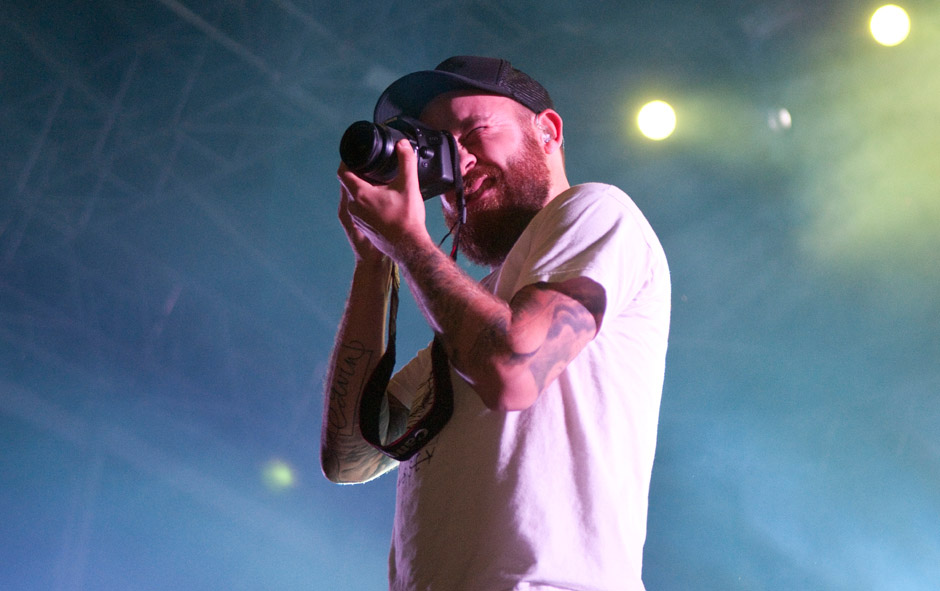 In Flames live, With Full Force 2013