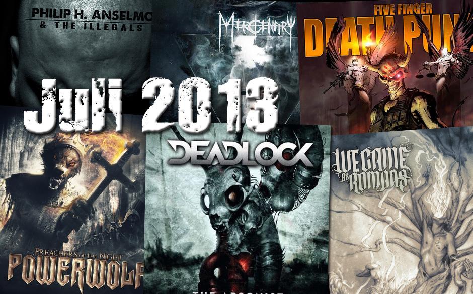 Die neuen Metal-Alben im Juli 2013