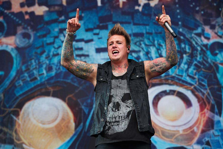 Papa Roach, Graspop Metal Meeting 2013