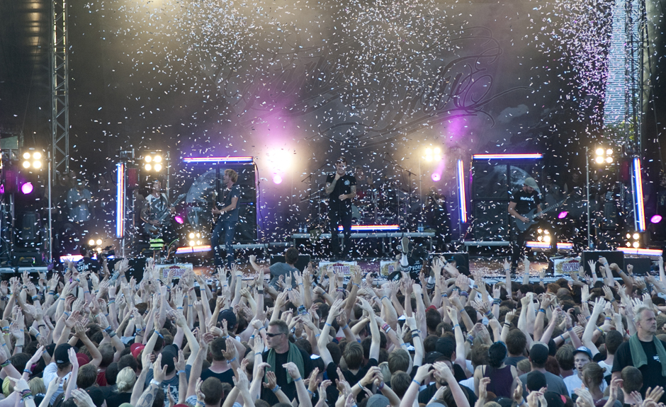 Parkway Drive live, Vainstream Rockfest 2013