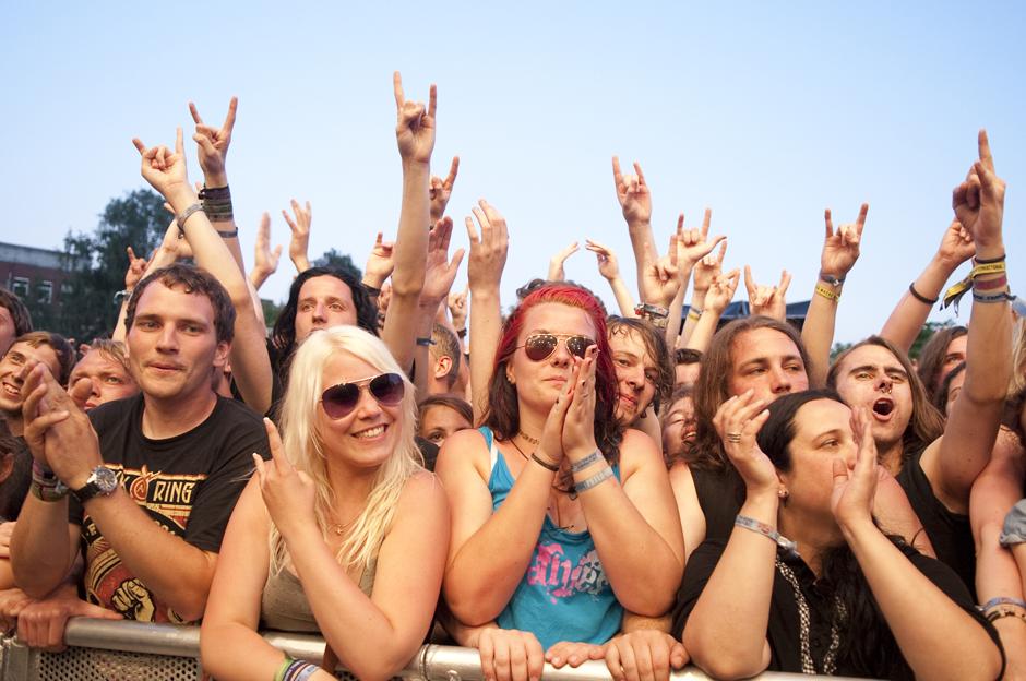 Fans und Atmo, Vainstream Rockfest 2013