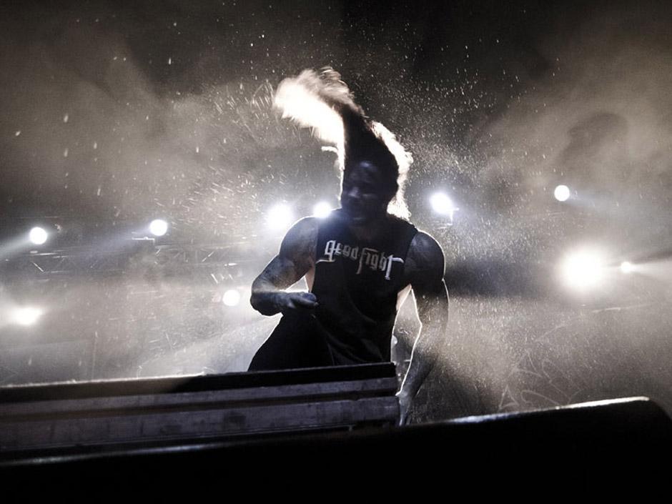 As I Lay Dying live, 8.11.2012, Hamburg