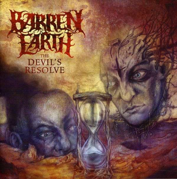 Barren Earth The Devils Resolve Cover
