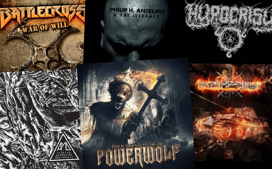 Die neuen Metal-Alben vom 12. + 19.07.2013