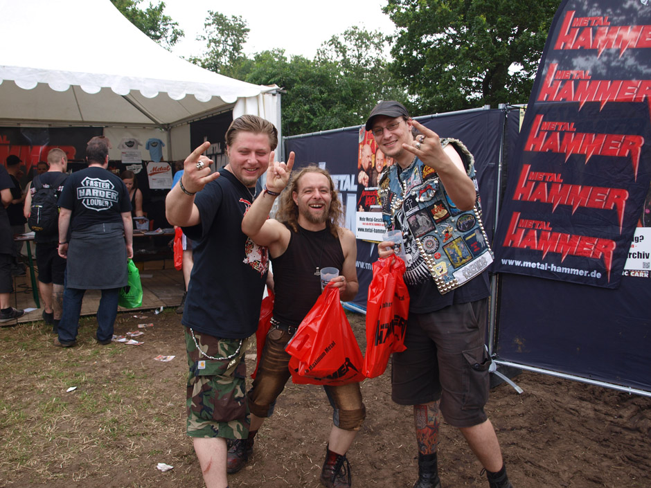 METAL HAMMER-Stand am Wacken Open Air 2012