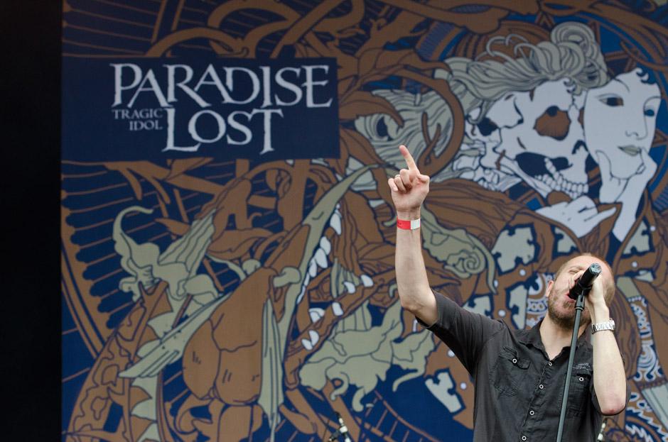Paradise Lost live, Wacken Open Air 2012