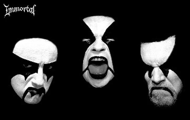 Black Troll Winterfest, Flyer mit Headliner Immortal