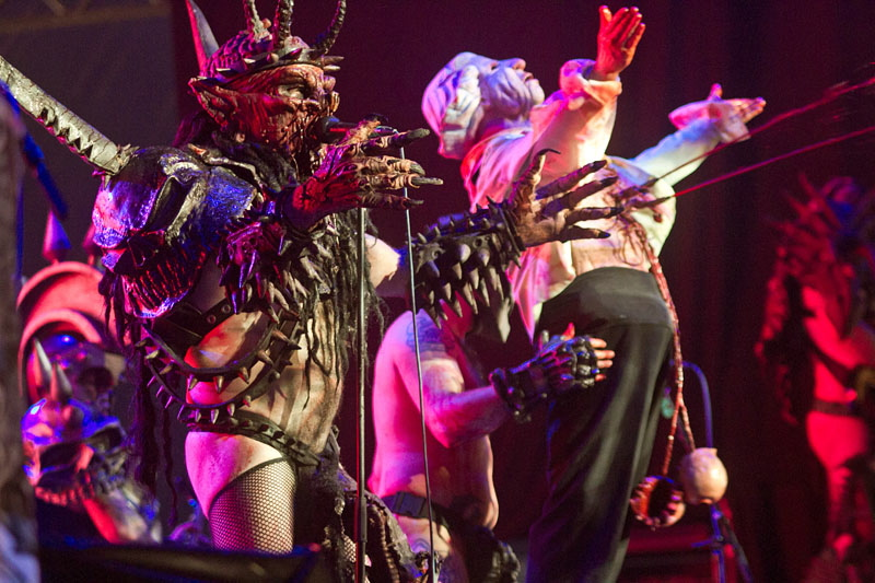 GWAR, Graspop Metal Meeting 2011