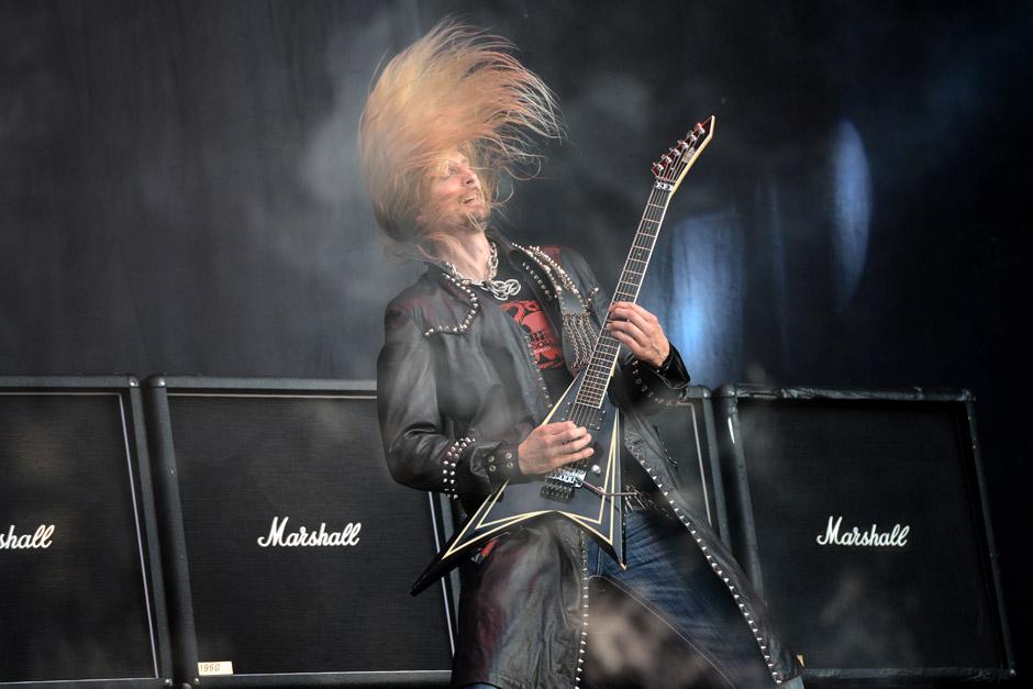Hammerfall live,  Wacken Open Air 2012