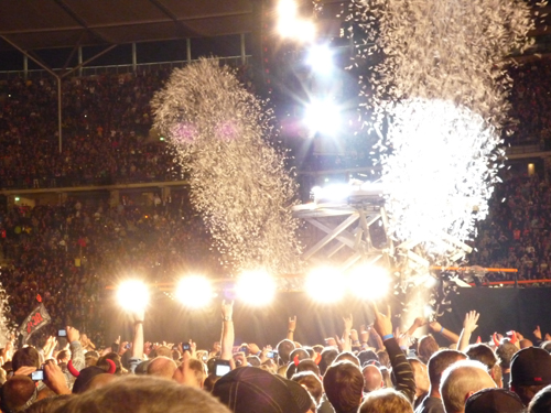 Beim AC/DC-Gig in Berlin