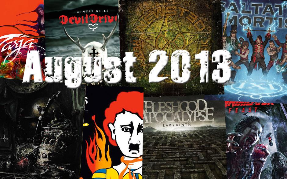 Die neuen Metal-Alben im August 2013 >>>