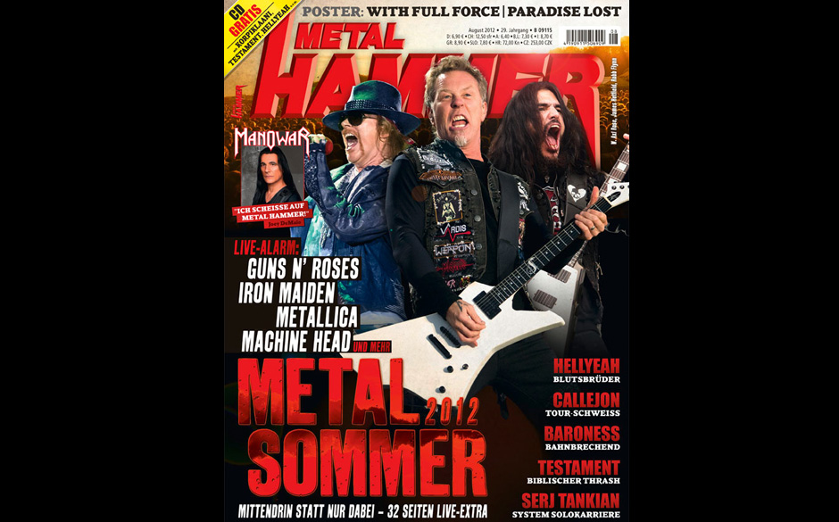 METAL HAMMER August 2012