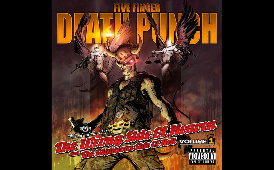 SEBASTIAN KESSLER 1. Five Finger Death Punch THE WRONG SIDE OF  	HEAVEN & THE RIGHTEOUS SIDE OF HELL VOL. 1 2. Black Sabbath