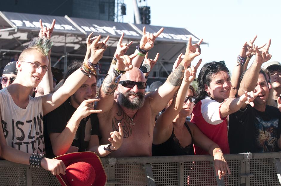 Wacken Open Air 2013 - Fans und Amto am Freitag
