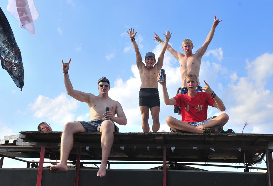 Wacken Open Air 2013 - Fans und Atmo am Donnerstag