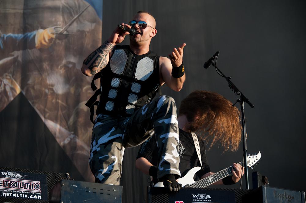 Sabaton live, Wacken Open Air 2013