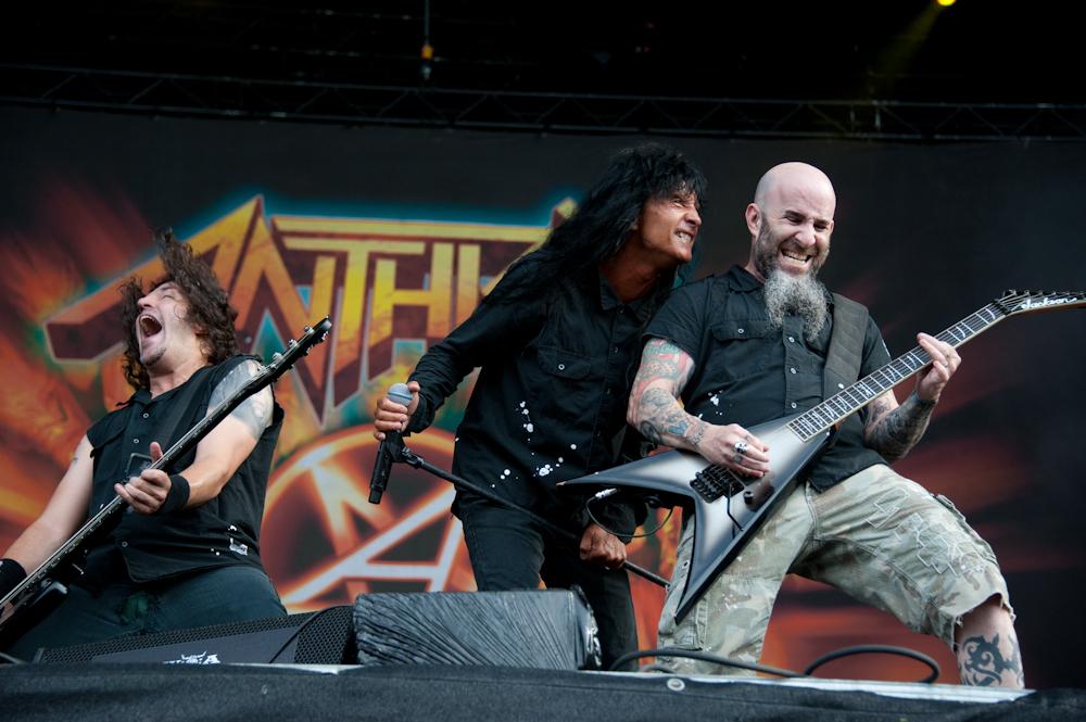 Anthrax live, Wacken Open AIr 2013