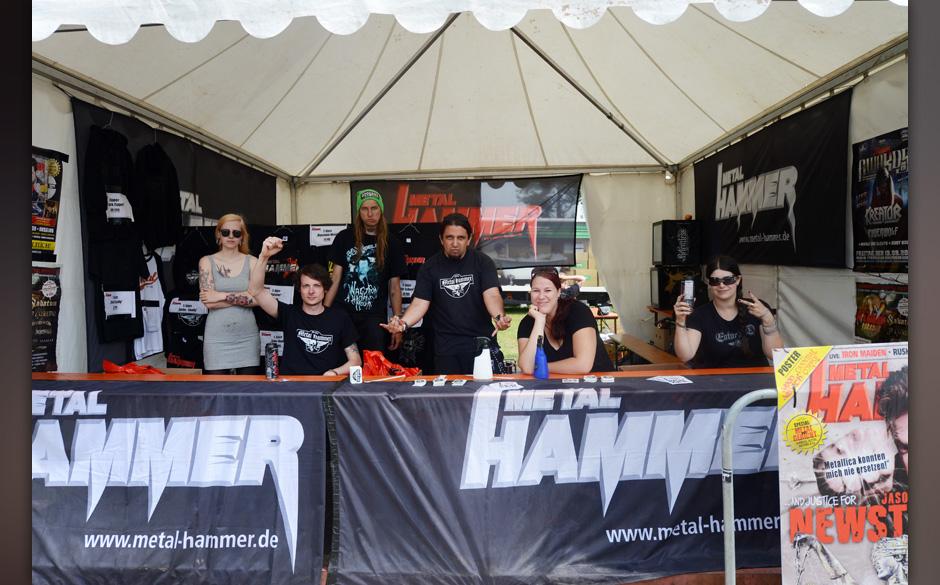 Wacken 2013 - Backstage und Crew