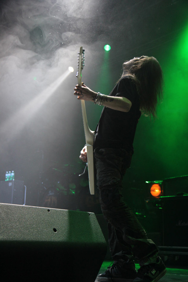 Children Of Bodom live, Earshakerday 2012